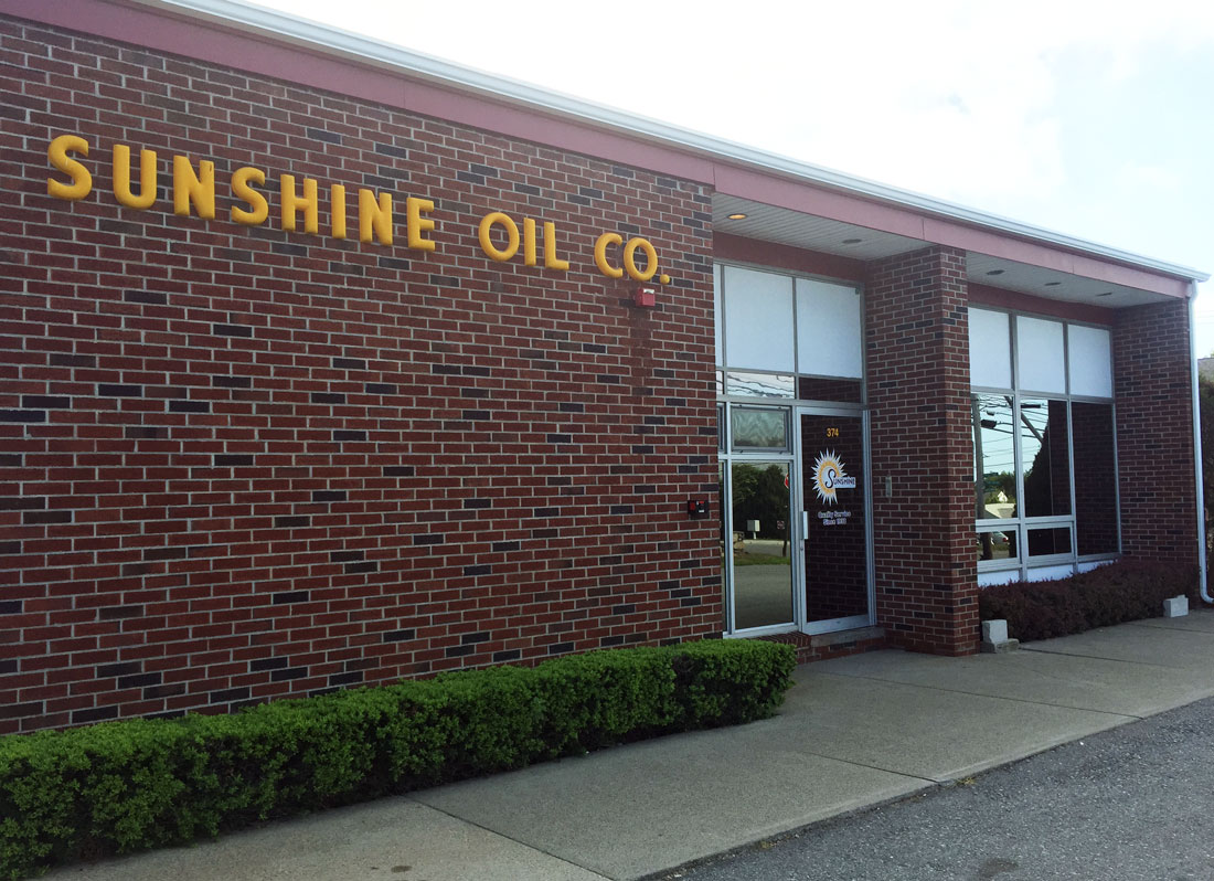 Sunshine Fuel Co office building for customer service in RI